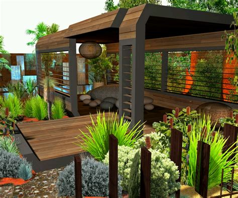Home Garden Landscaping Ideas New Home Designs Modern Homes Garden Designs Ideas