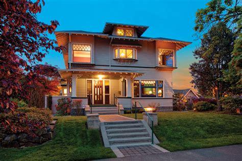 real estate three seattle craftsman homes seattle magazine