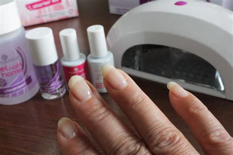 essence uv le essence gel nails at home how to review met filmpje