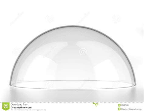 transparent semi sphere stock illustration image of