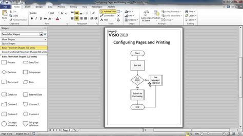 visio display getting started with visio 06 configure diagrams for