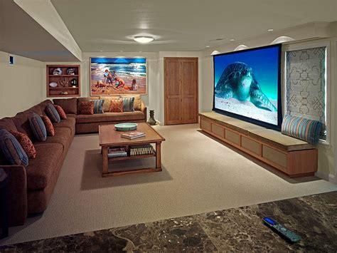 Room Bioskop Keren | desain home theater dengan beach style yang bikin rumah