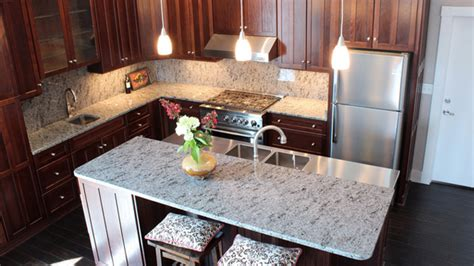 15 Different Granite Kitchen Countertops   Home Design Lover