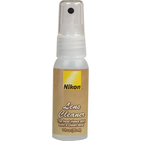 lens cleaning nikon lens cleaning spray 1 oz 790 b h photo