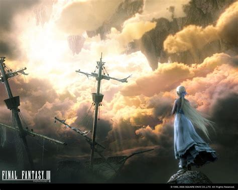 wallpaper animasi final fantasy final fantasy 3 wallpapers wallpaper cave