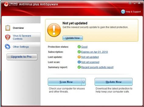 Antivirus Trend Micro trend micro antivirus antispyware review notebookreview