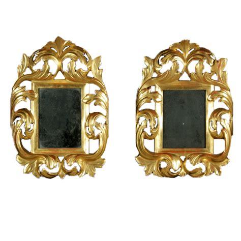 specchi con cornici coppia di cornici dorate con specchio specchi e cornici