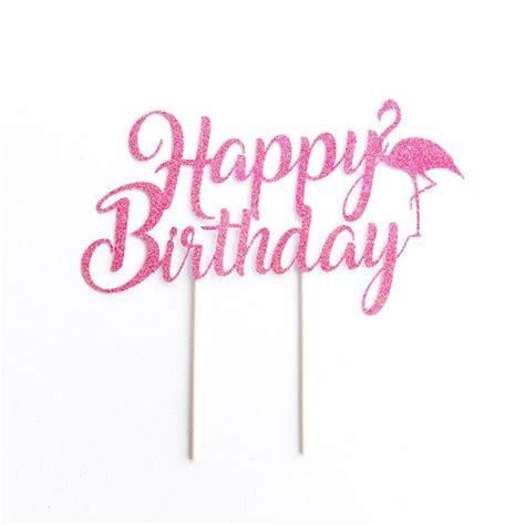 Printable Flamingo Cake Topper