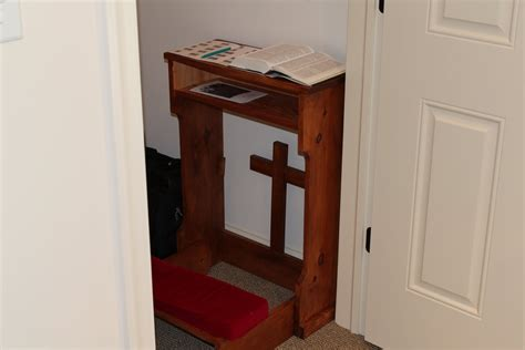 Prayer Closet by Cross Eyed A Tour Of The Office Study In Pictures