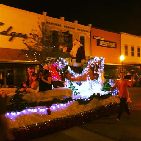 friday downtown bryan lighted christmas parade insite