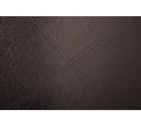 Leather Effect Ottoman Buy Home Xl Leather Effect Ottoman With Stitching Detail Brown At Argos Co Uk Your