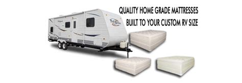 Travel Trailer Mattress Sizes by Rv Mattress Custom Size Mattresses For Rv And Cers