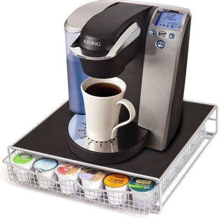 k cup drawer walmart oxgord keurig coffee k cup holder storage drawer walmart