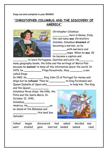biography resources for students christopher columbus activity by a2b teaching resources