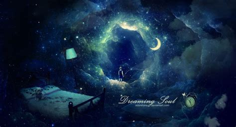 photoshop digital imaging waking from a dream dreaming soul by adoreluna on deviantart