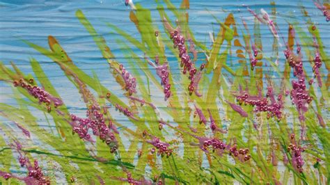 dipinti fiori astratti quadri astratti quadri fiori quadri materici a rilievo