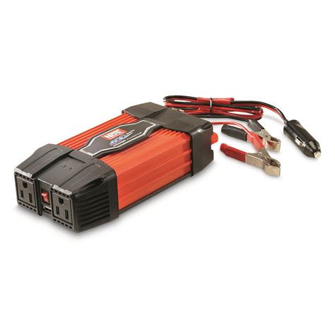 Visero Power Inverter 400 Watt nos 400 watt power inverter with usb 699105 power inverters at sportsman s guide