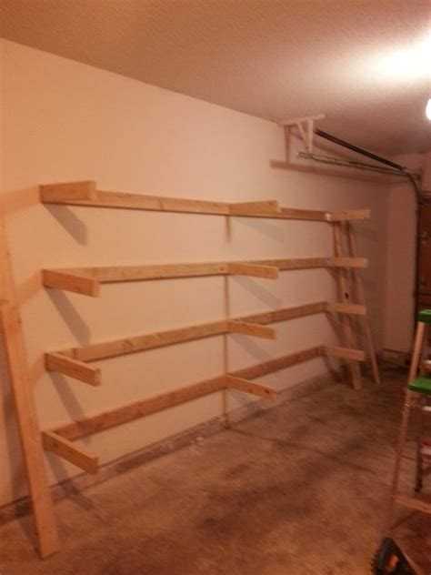 Garage Storage Racks Diy 25 Best Ideas About Garage Shelving On Diy