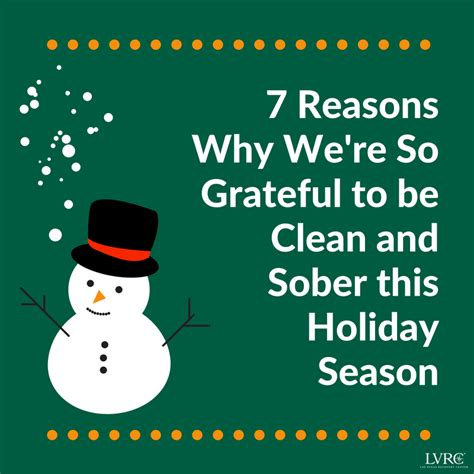 7 Reasons Not To During Your Years by 7 Reasons We Re So Glad We Re Staying Sober During The