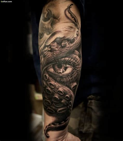 3d sleeve tattoo designs 60 brilliant 3d arm tattoos realistic 3d sleeve