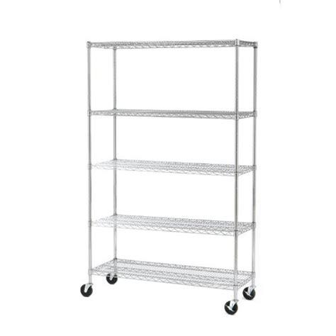 Nsf Shelf by Seville Classics Ultrazinc 5 Shelf Nsf Wire Shelving Rack