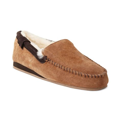 emu mens slippers emu huntley slippers in brown for chestnut lyst