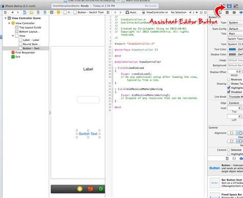 tutorial xcode programming beginner s guide to ios development the interface part