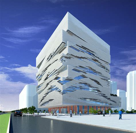 create a building taizhou city cultural and creative industry building by