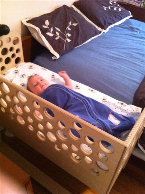 baby side bed crib co sleeper side car baby bed babyroom pinterest