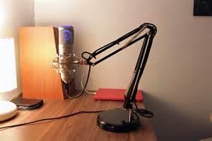 adjustable desktop microphone boom on a budget ikea