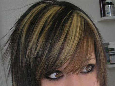 hair striking awesome hair highlights striking brown medium hair