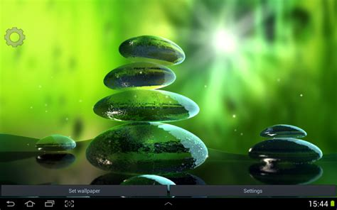 wallpaper iphone 6 zen green zen live wallpaper android apps on google play