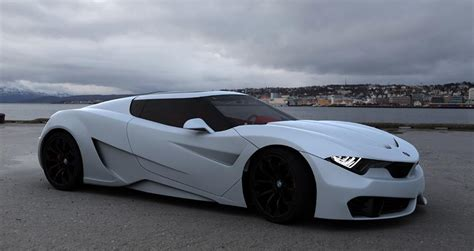 M9 Concept Renderings Show Potential BMW Supercar