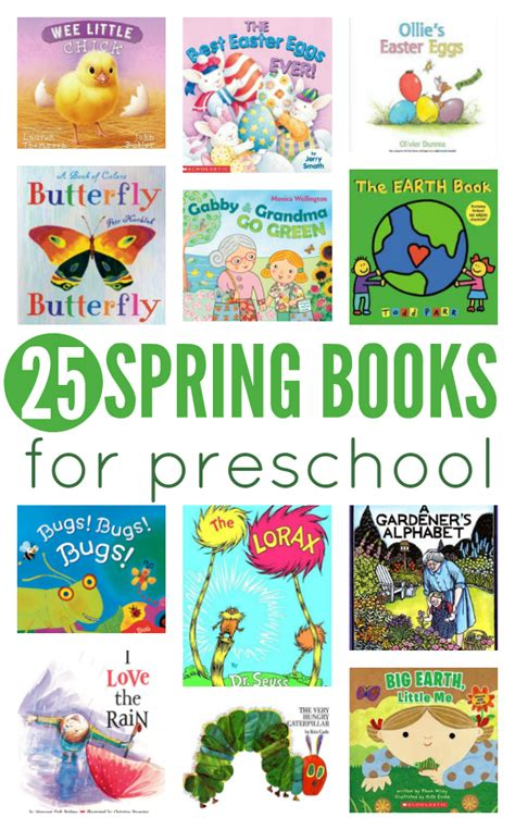 book themes for kindergarten 25 spring books for preschool no time for flash cards