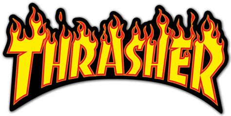 Kaos Thrasher Free Sticker 1 sticker thrasher 6 muraldecal