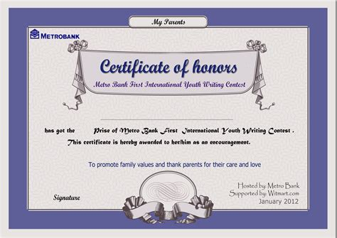 design competition certificate chasedreamgirl s bid 9929 for design an award certificate
