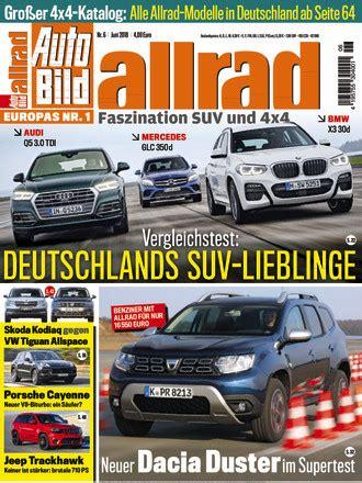 Auto Bild Allrad 04 by Auto Bild Allrad Vom 04 05 2018 Als Epaper Im Ikiosk Lesen