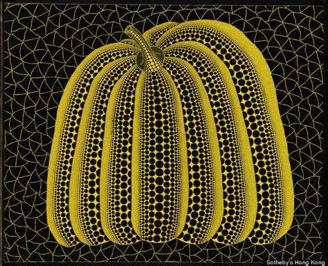 Guess Jpg1 yayoi kusama s pumpkin can you guess how much it costs