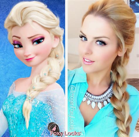 from frozen hairstyle imogen foxy locks volumised french braid hairstyle