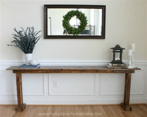 Diy Console Table Diy Console Table 5 Ways Bob Vila