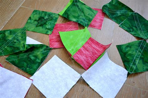 Poinsettia Quilt Block Pattern by In July Bundle Sale Pattern Sneak Peek