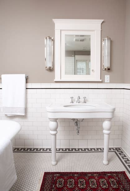 Vintage Bathroom Tile Ideas by 2013 Tile Trends Vintage Large Format And Metallic
