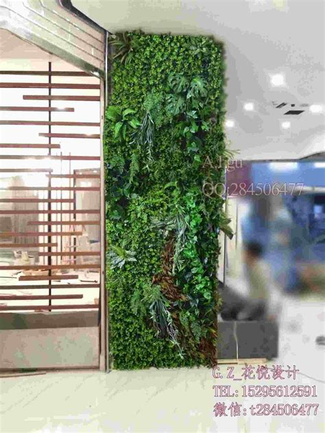 plant partition 2017 suzhou plant simulation wall partition wall outdoor