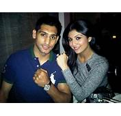Shilpa Shetty Spotted With Boxer Amir Khan  PINKVILLA