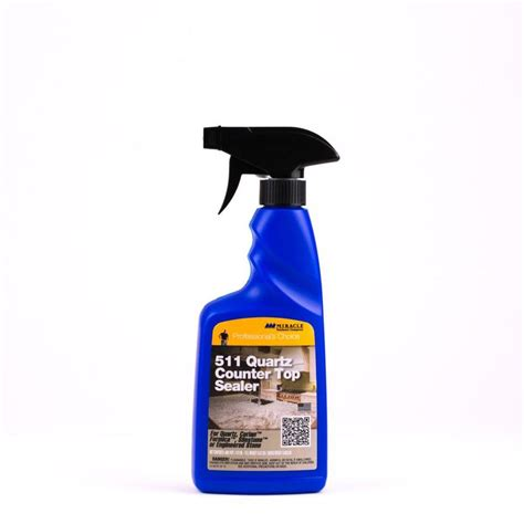 Sealer For Quartz Countertop Miracle Sealants 511 Quartz Countertop Sealer 16 Oz At