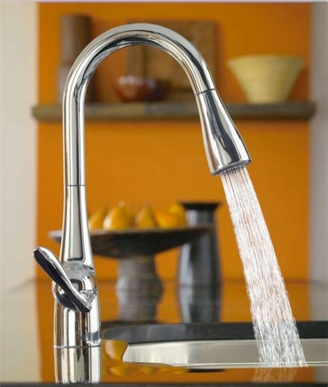 kitchen faucets 7 most innovative faucet designs for 2009 moen faucets kitchen faucets designed for a true chef s