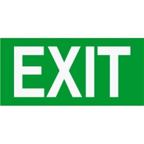 Door Light D Pintu Sing Ada Logo em48 signs of safety exit sign emergency signs