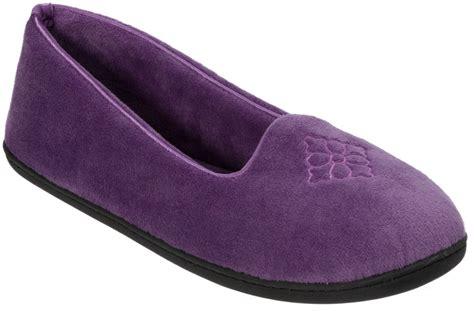 dear foam slippers dearfoams womens velour solid moccasin slippers ebay
