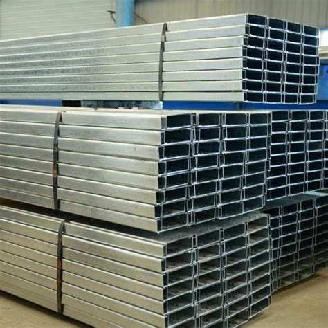 steel c section prices c type steel for construction materials c structural
