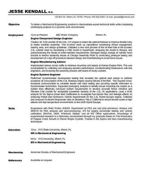 Resume Your Way Engineering Resume Objective Berathen